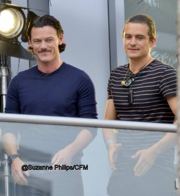 Happy Birthday Orlando Bloom      & two Gorgeous      & credit in the pic