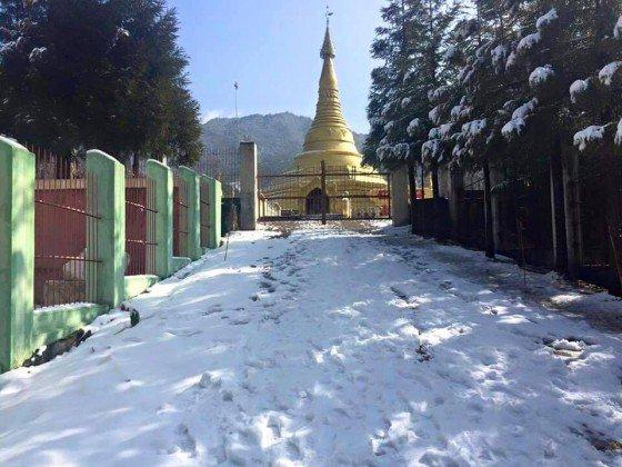 หลายๆ คน คงไม่รู้ว่า รัฐกะฉิ่น ทางตอนเหนือของเมียนมาร์ เพื่อนบ้านเราก็มีหิมะตกอยู่ทุกปี ไม่ต่างกับญี่ปุ่นเกาหลีเลย https://t.co/GnAVs2Mi8L