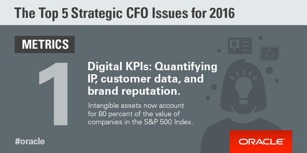 #Oracleu0027s @bobevansIT: CFOs Need Digital KPIs That Modern #cloud Based Tools