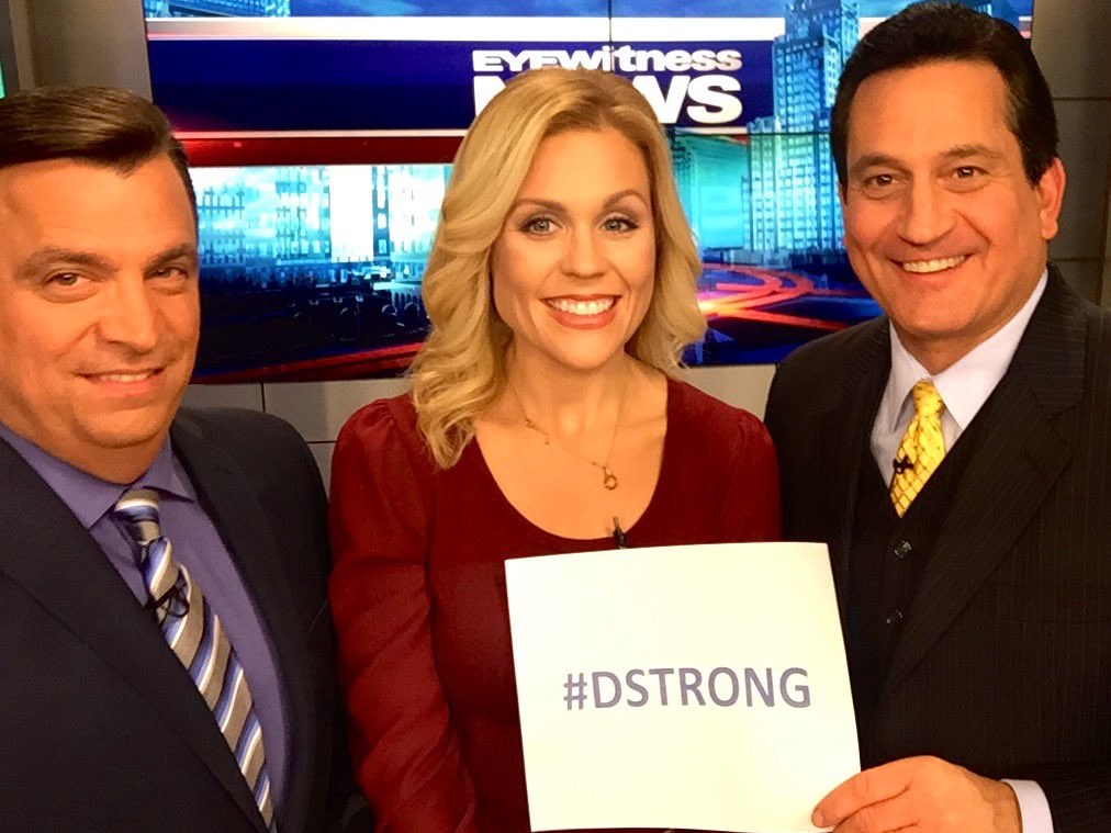 Shannon Hegy (@ShannonHegy): Showing support for our favorite local celebrity! #DStrong @tony_tpetrarca @mmontecalvotv @wpri12 https://t.co/tKSMOfTR47