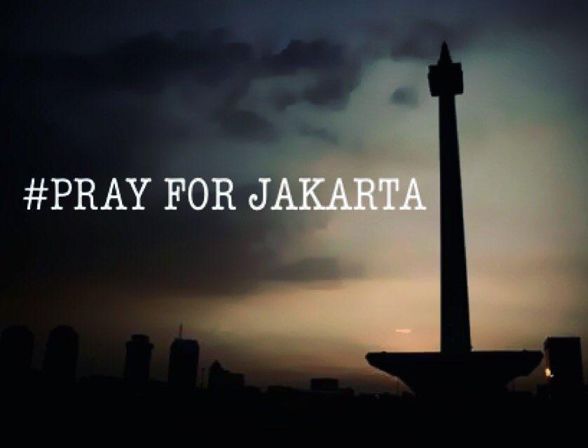 Ya Allah,KAU yang menciptakan mereka, maka KAU juga yang bisa sadarkan mereka .. #prayforjakarta https://t.co/jvACVF69aj