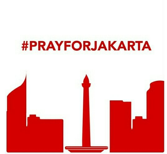Please be safe everyone.. And please don't share the victim's pictures,.. #PrayForJakarta  #PrayForIndonesia https://t.co/2SZdE7mTLT