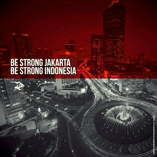 Be strong, Jakarta. Be strong, Indonesia. Semoga Cosmoners, Cosmonauts, & Cosmocil dlm keadaan aman. #PrayForJakarta https://t.co/XntYrWq6gU