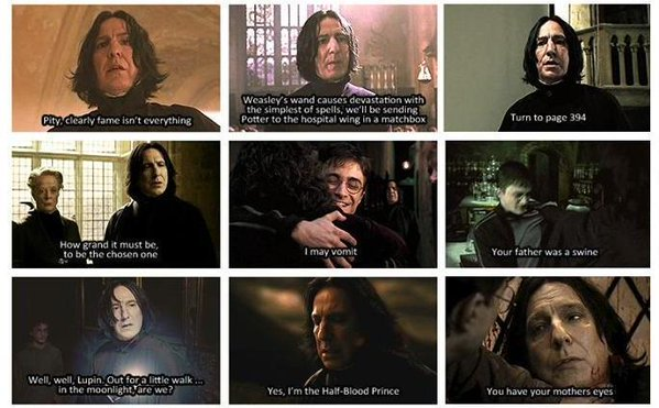 Alan Rickman was the perfect Severus Snape. https://t.co/pK5XYkks2P