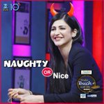 RT @ZeeTVTelugu: Which expression suits this diva better? @shrutihaasan on #KTUC2. https://t.co/gpmSHJLGe5