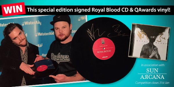 #RT & subscribe to: https://t.co/mzHwOANxrM to #WIN a special edition signed @royalblooduk CD & vinyl #Competition https://t.co/g7pJZrMzWB