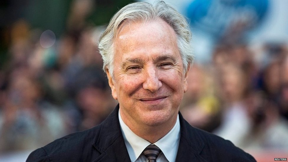Actor Alan Rickman has died from cancer aged 69, his family confirm https://t.co/lI606Wz0eD https://t.co/4Jtr3cOj7w