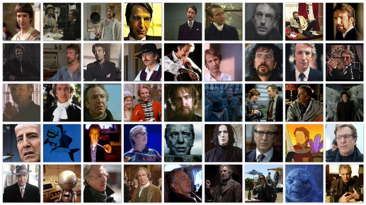 """Talent is an accident of genes - and a responsibility."" – Alan Rickman #RIPAlanRickman https://t.co/Uy74g9UFz3"