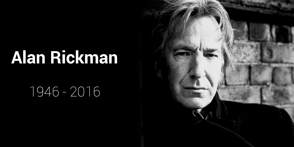"""I like it when stories are left open."" - Alan Rickman. His story will continue through his work for generations. https://t.co/L6PiLfd5Sv"