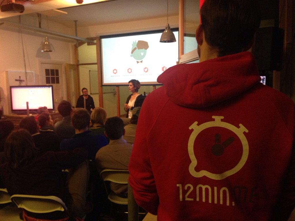Full house at #12minme #12minhh https://t.co/uOCvz2fsFY