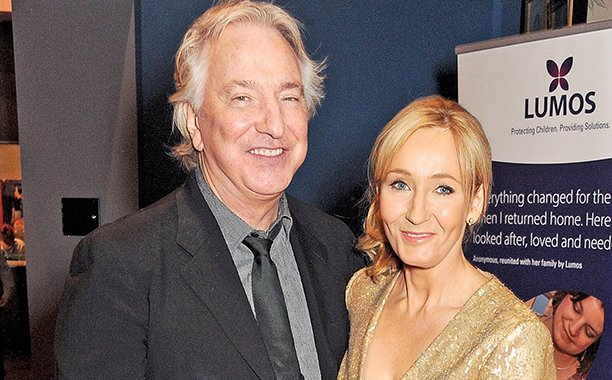 J.K. Rowling pays tribute to Alan Rickman: