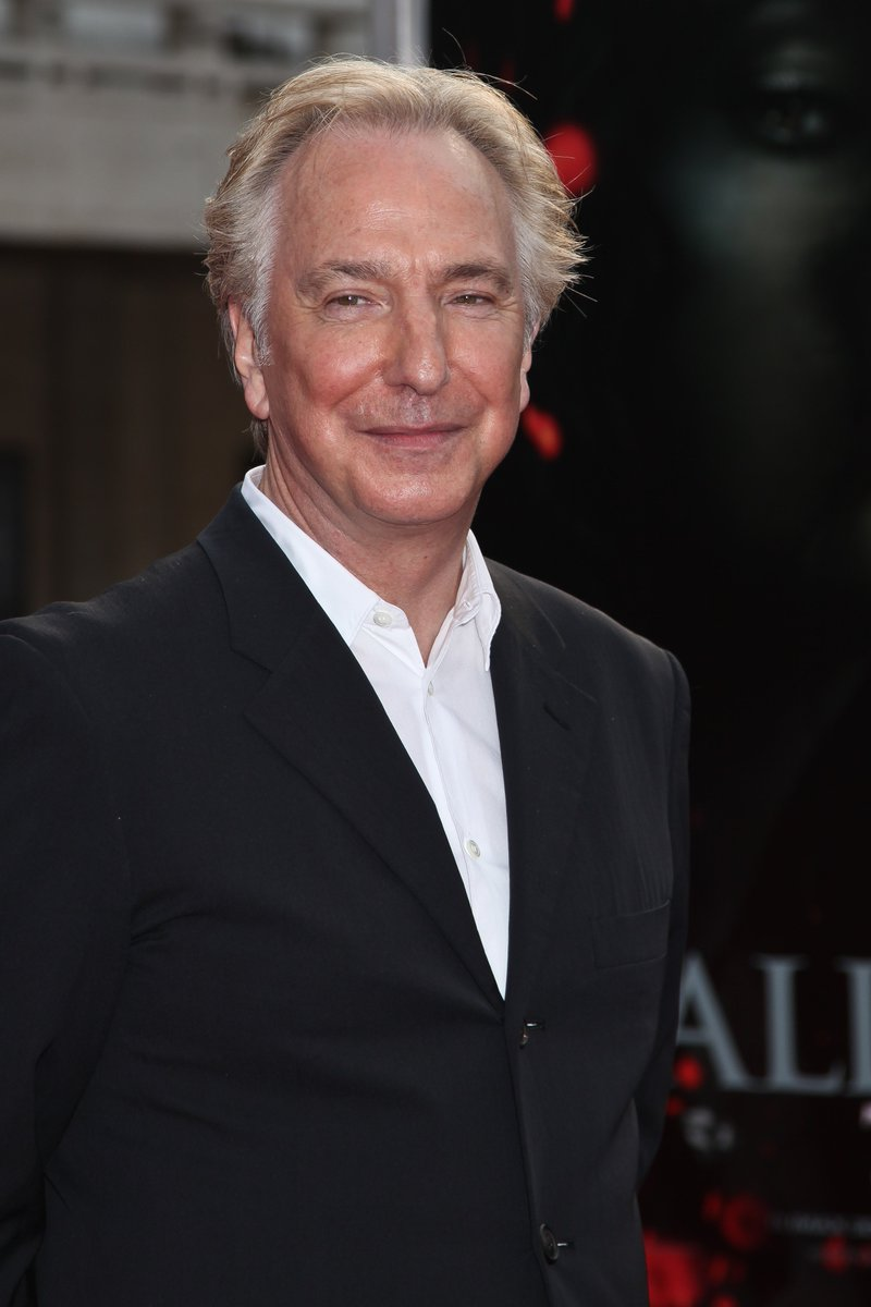 Rest in peace, Alan Rickman. https://t.co/s5rwkS0t3P