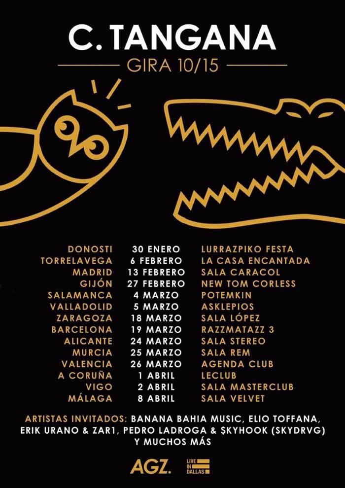 C. Tangana anuncia 14 fechas y su gira10/15 https://t.co/yfg5rkHkAV https://t.co/sArH7UGzss