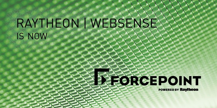 Raytheon|Websense is now #Forcepoint https://t.co/6I4rci66FI https://t.co/FXONT9GfAR