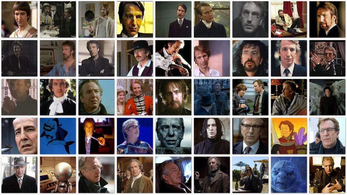 Rest in peace, #AlanRickman. You've left a tremendous legacy, and will be greatly missed. https://t.co/f6W1eyfhCy