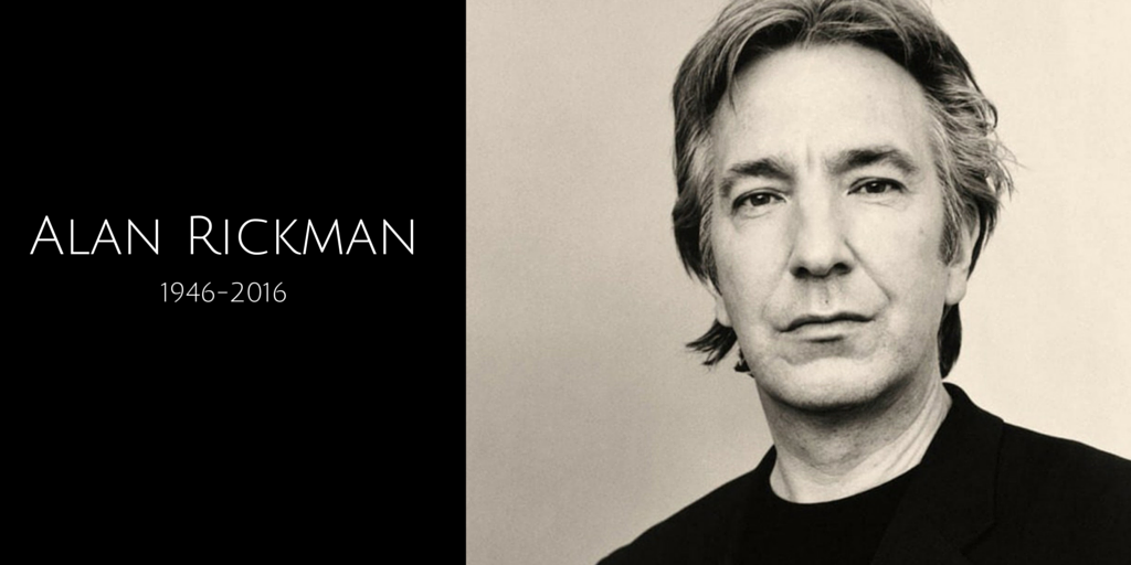 Devastating. #AlanRickman was one of the most talented actors I've ever had the privilege to cast & meet.  #RIPAlan https://t.co/huk6ZCSNTu