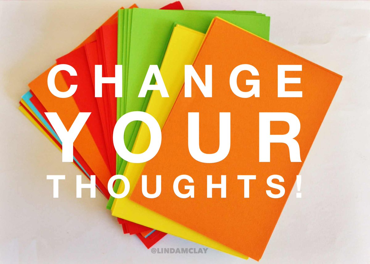 You CAN reverse the labels you've placed on yourself .. Change Your Thoughts! https://t.co/1P6PHGgJgP