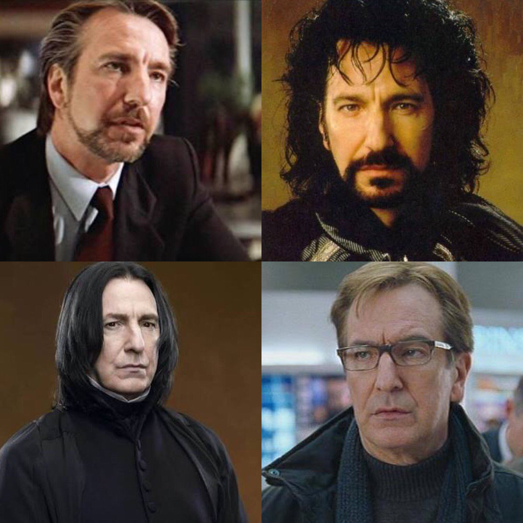A true legend of film... RIP #AlanRickman https://t.co/tkrZjYvOOs