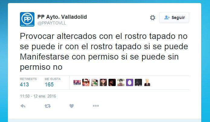 Se necesita con urgencia un lote de comas y puntos para el PP de Valladolid https://t.co/pj8lvKfYvQ
