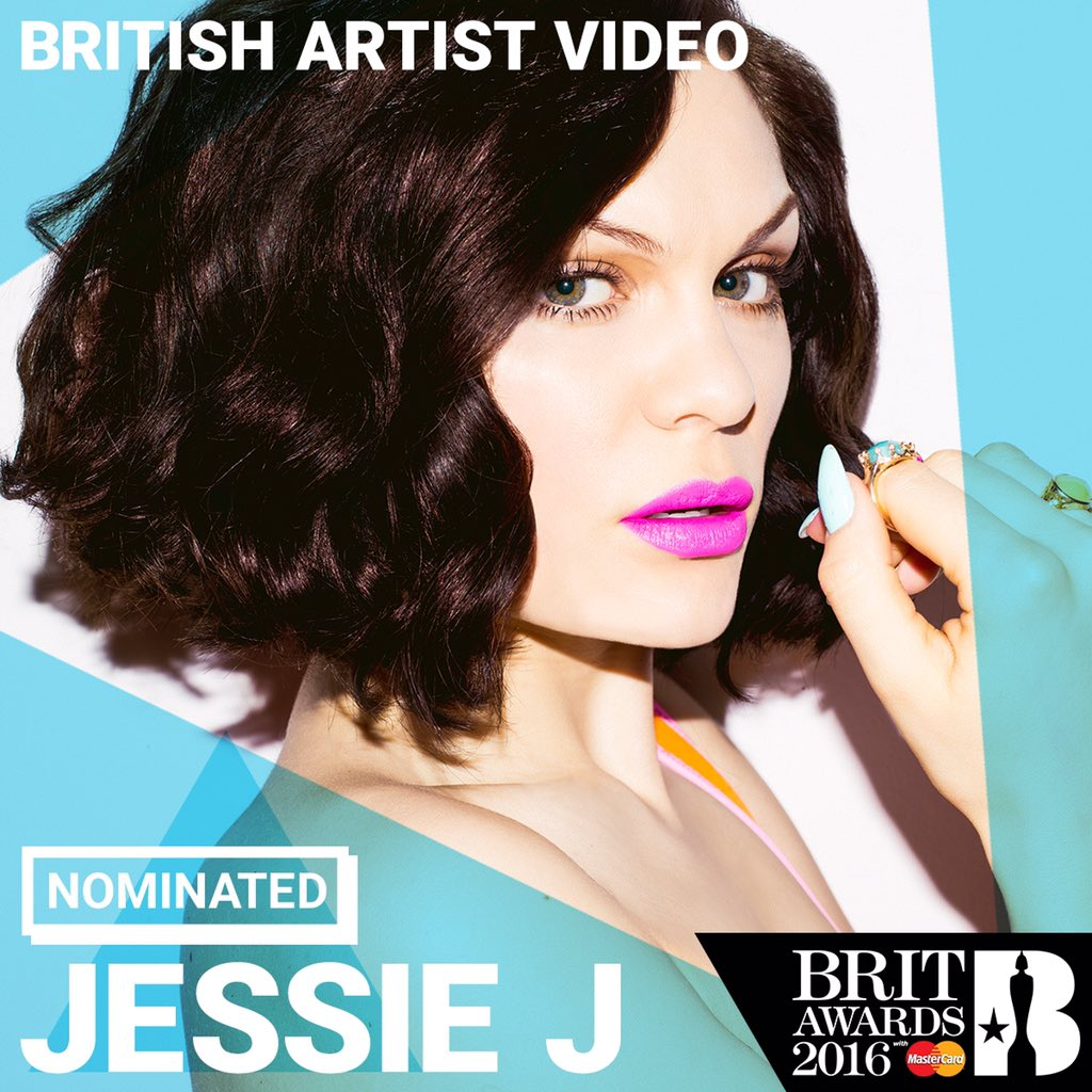 Just got the news my 'Flashlight' video has been nominated at the @BRITs awards! #BRITs https://t.co/xiZZuiqFq9