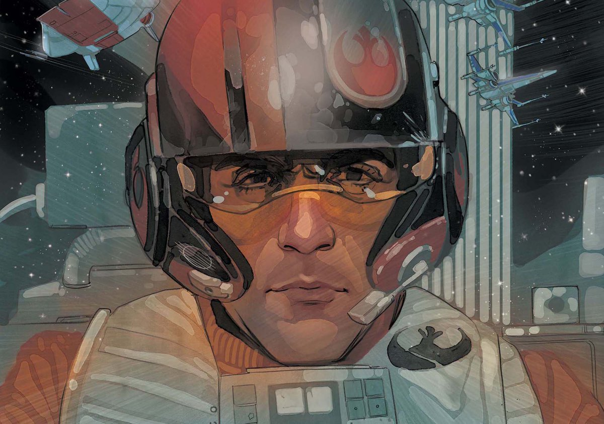 Exclusive: #PoeDameron #StarWars comic book by @CharlesSoule & @philnoto debuts in April https://t.co/Ku0LWcPmOe https://t.co/IbCQGetGAl