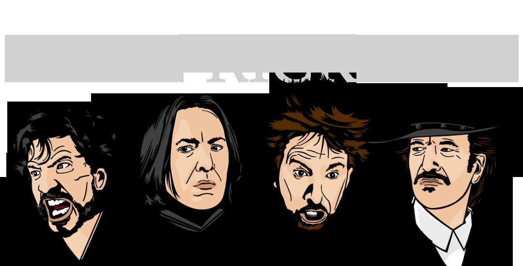The Many Faces of #AlanRickman https://t.co/6Z4nFlUhwC https://t.co/PdvJRDEW8q