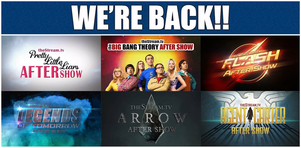 You're fave shows are back! Subscribe NOW & stay connected! https://t.co/ihmoL4KIrW #LIVE #AfterShows #theStreamtv https://t.co/RLEpqhZrgG