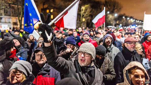 A slap on the wrist for Poland is a big test for the European Union