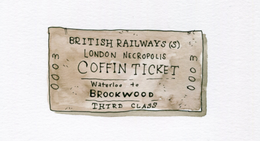 London once had a railway line for the dead. From @lucaswadams & @atlasobscura: https://t.co/rDHUoOaiO9 https://t.co/EGZ9l03YMY