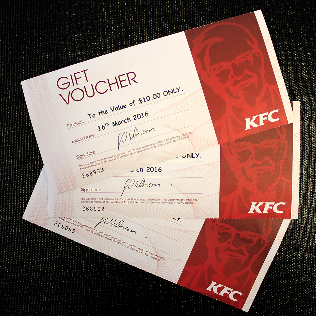 Miss out on that $1.6 billion? We've got the next best thing - 3 $10 KFC vouchers to giveaway! RT to go in the draw! https://t.co/vNFtea05IQ
