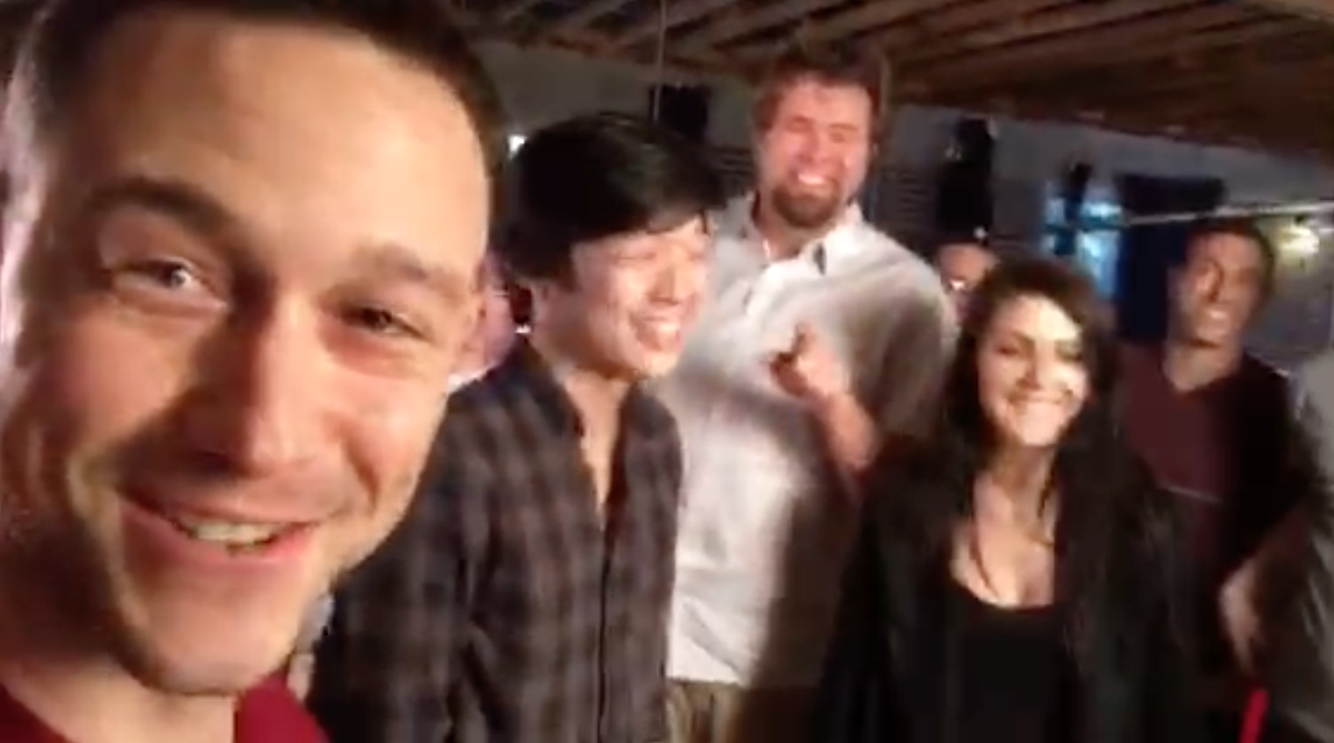 Here's a video of us @hitRECord launching V6 before we ate victory ice cream. Excelsior! https://t.co/mMS7alYYTW https://t.co/vjHIHgu8I9