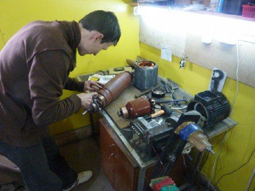 Ремонт электродвигателя своими руками