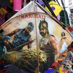 RT @daggubatifc: #FlyBaahubali #Bhallaladeva #BaahubaliCraze #SankranthiSpecialBaahubaliKites  @RanaDaggubati https://t.co/e0QvWAddO6