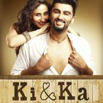 Here's the official poster of Eros and R Balki's 'Ki & Ka'. https://t.co/GM8QapKp9h