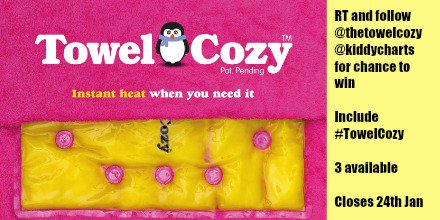 Are ur kids getting cold? RT / Follow both 2 #win @thetowelcozy @kiddycharts #TowelCozy https://t.co/uJMOiJCepF https://t.co/zttvoWLOek