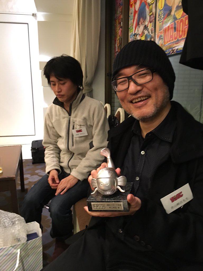 青山剛昌なう https://t.co/lA8msQubgr