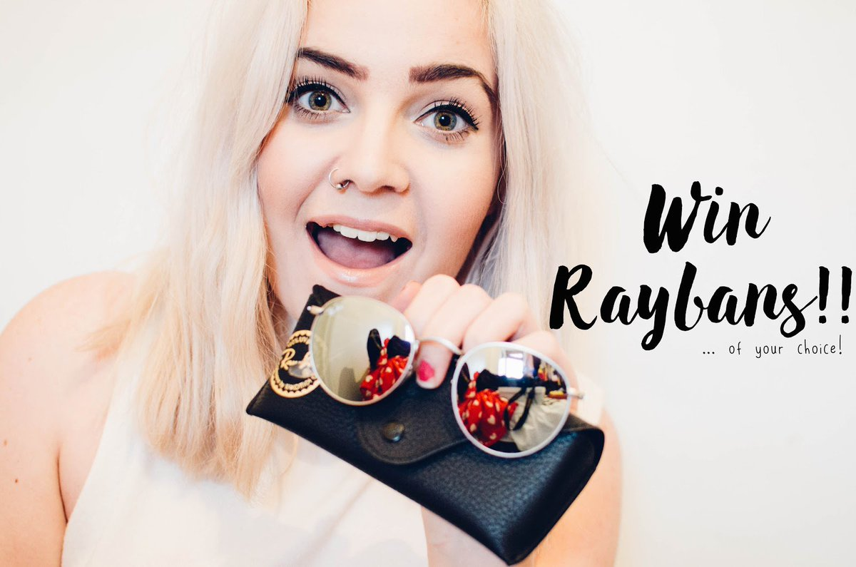 We're offering you the chance to win a pair of Ray-Ban sunnies - https://t.co/2odeg3kMep #SGSgiveaway #bloggers #win https://t.co/U40WLtKijE