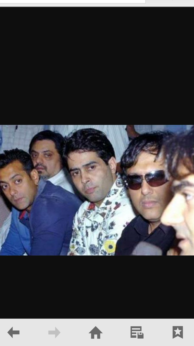 A moment of my life .. The toughest one .. 2003 ... With SALMAN KHAN  .. GOVINDA  ... ARBAAZ KHAN .. and RAJ KANWAR https://t.co/BPw8sTJfWS