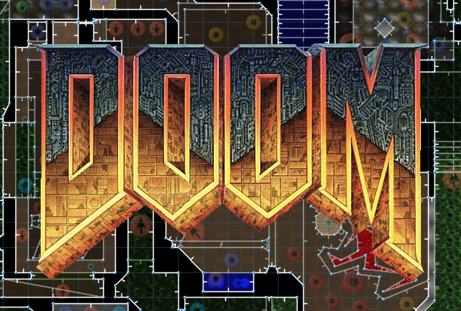 It's been 21 years since I made a DOOM level. Here's my version of E1M8 using DOOM1.WAD. https://t.co/ueKM7gBbXd https://t.co/NlmA9aIALN