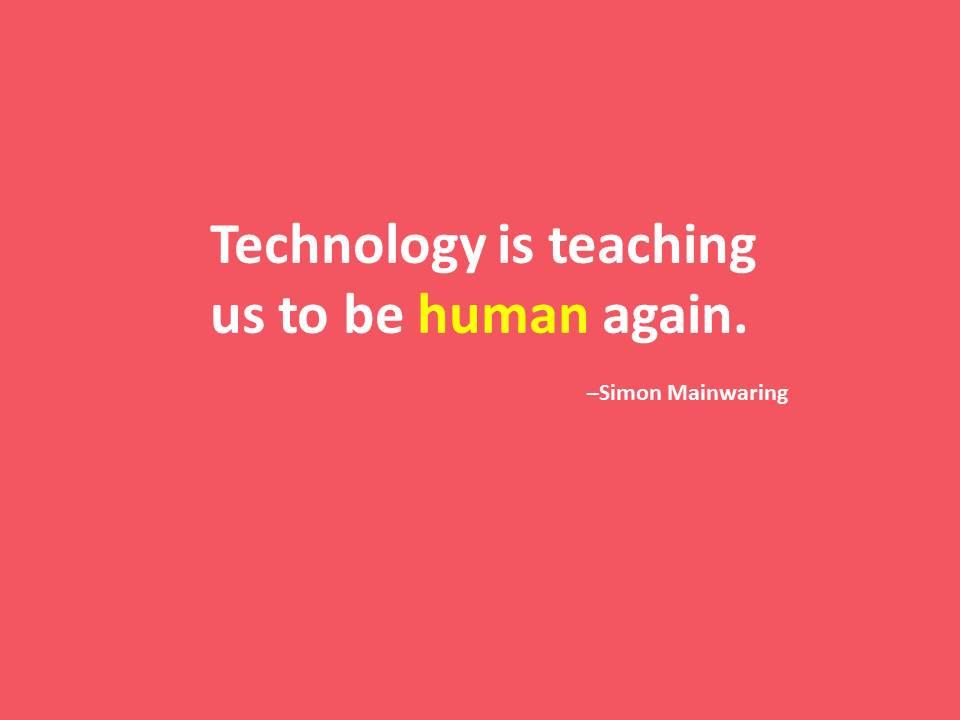 Deep! Tech can help define what is human. RT @ExhibitionNews: What do you think? #EventTech #eventprofs #technology https://t.co/6B7JiDEI2C