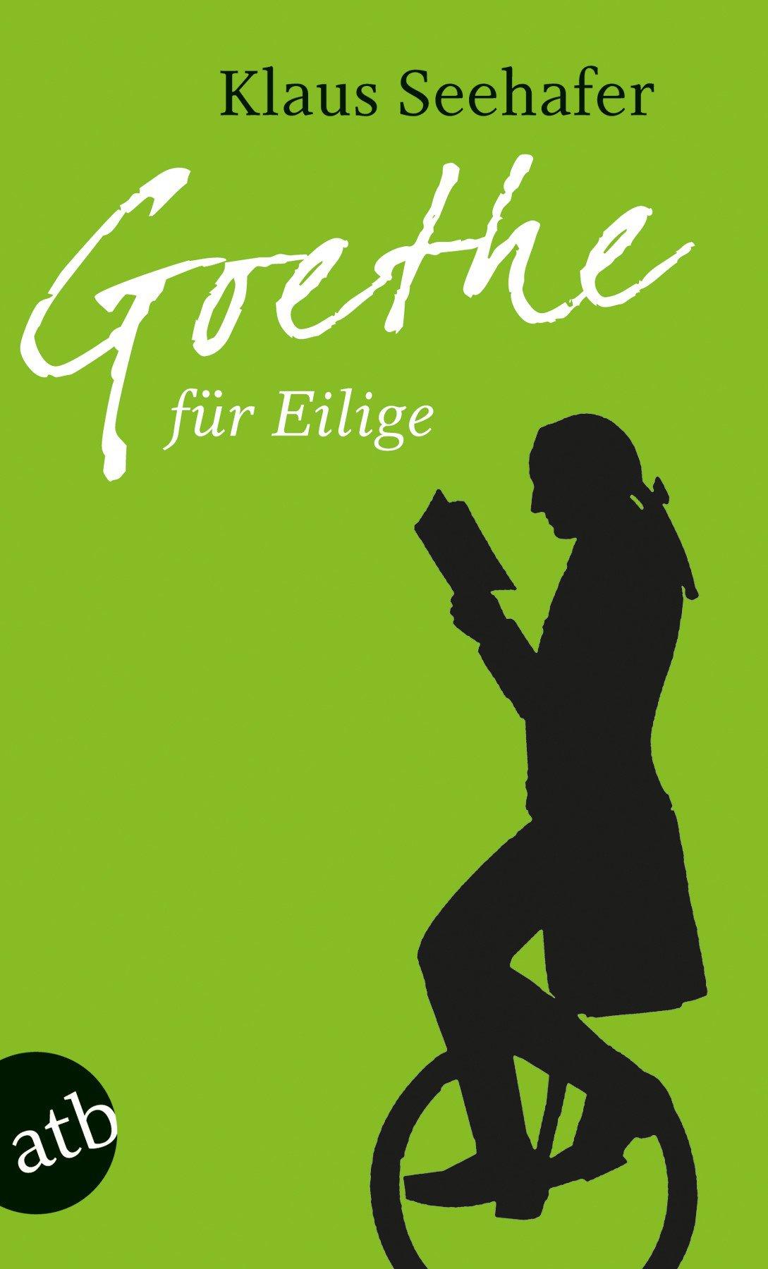 """Heute beginnt die Internationale Grüne Woche, wir beenden unsere #grünewoche mit diesem Buchtipp:""""Goethe für Eilige"""" https://t.co/ddJepUCslD"""