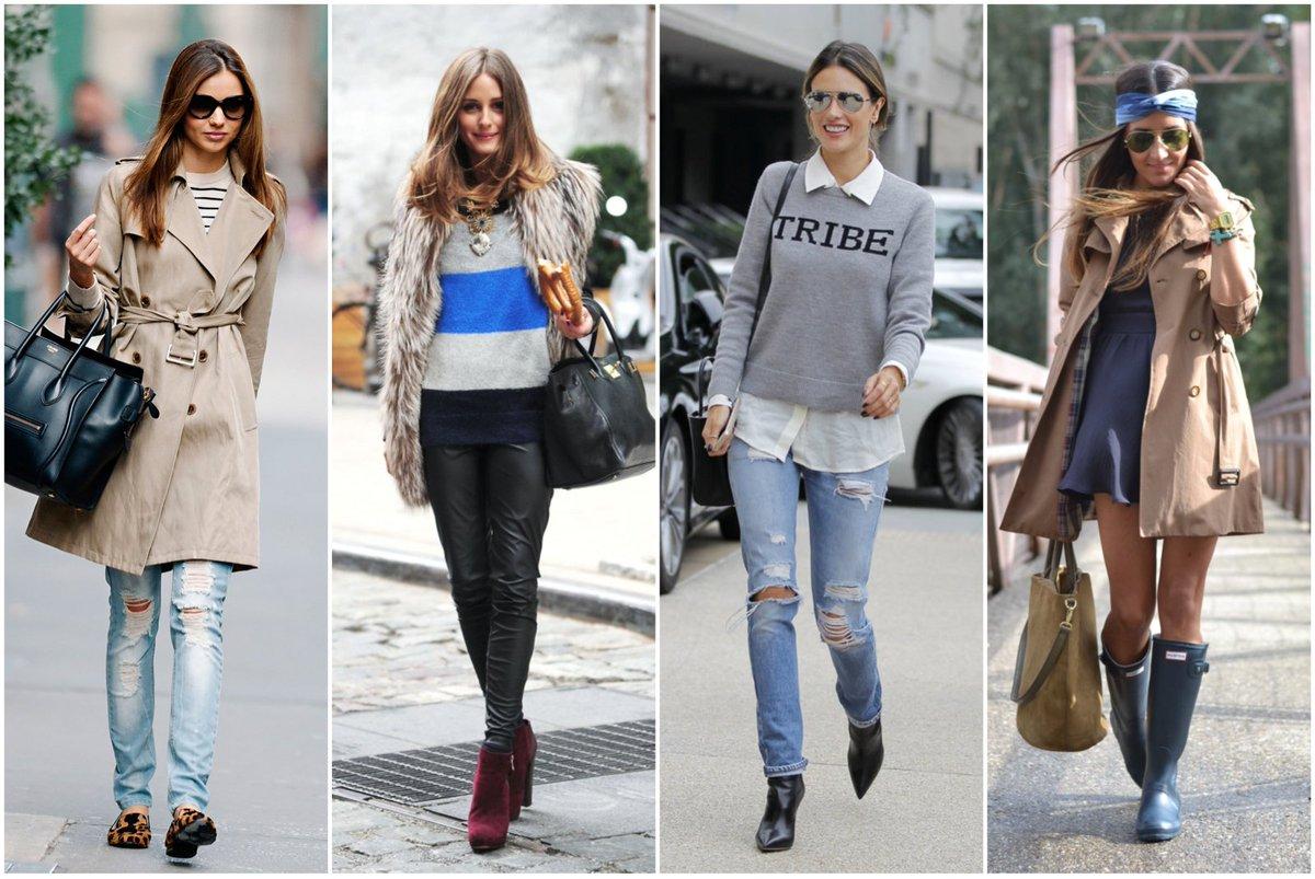Outfits para du00edas lluviosos. u00a1uno para cada du00eda de la semana! u2013u0026gt; - scoopnest.com