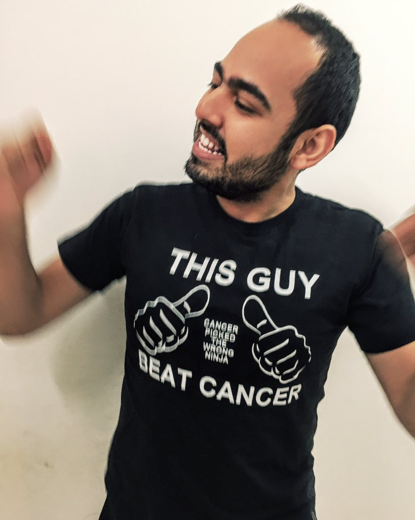 On this day, a year ago, I was diagnosed with cancer and the rest is history. [Caught mid-dance]  Also screw cancer. https://t.co/Bce7h2guYM