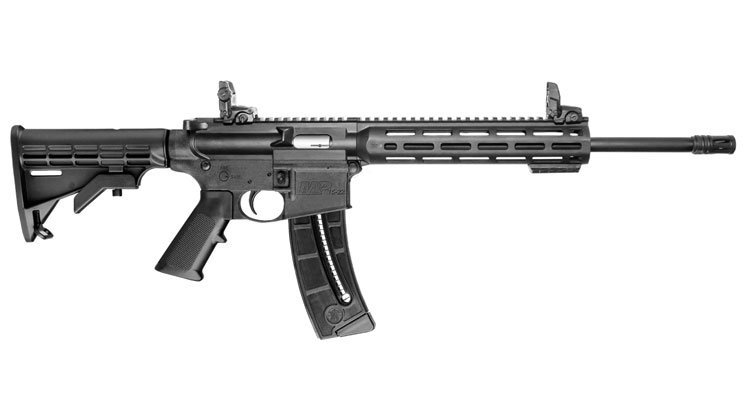 New from @SmithWessonCorp: M&P15-22 Sport — https://t.co/ahTwKgKJNG — #guns #firearms #AR15 @AR15COM https://t.co/iiEvitqgBo