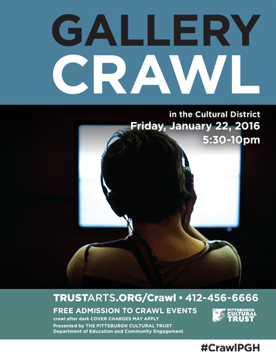 First Gallery Crawl of 2016 is next Friday! What r u excited to see? https://t.co/qpiWFr6crv #CrawlPGH #pittsburgh https://t.co/u0dcHYwWkU