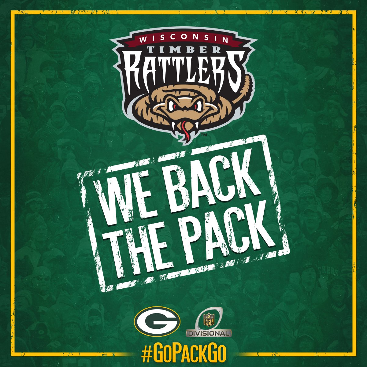 We are ready for a @packers win today! #GoPackGo https://t.co/JcJgQxgKmF
