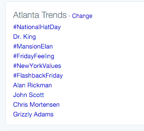 So John Scott is trending in Atlanta. That city that doesn't care about hockey, right @NHL? https://t.co/kBNGFNmfrj