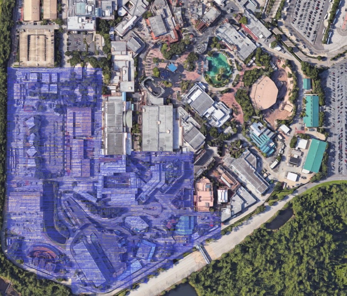 A rough estimation of what will be bulldozed soon at Disney's Hollywood Studios https://t.co/Bx1rn0GfBV