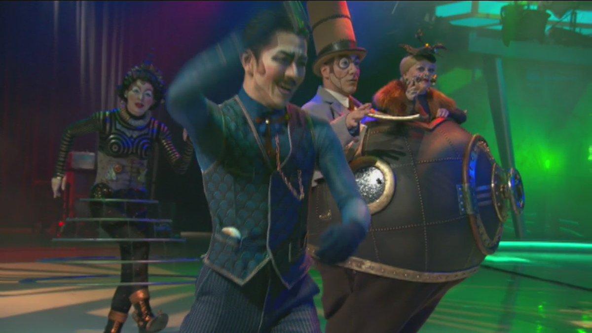 ロサンゼルスの朝のTV番組に出演させていただいた映像が公開されていました(^^) RT @GDLA: #Kurios with a new @Cirque du Soleil. https://t.co/8JyfZQs9qh https://t.co/edwzTvhmm3