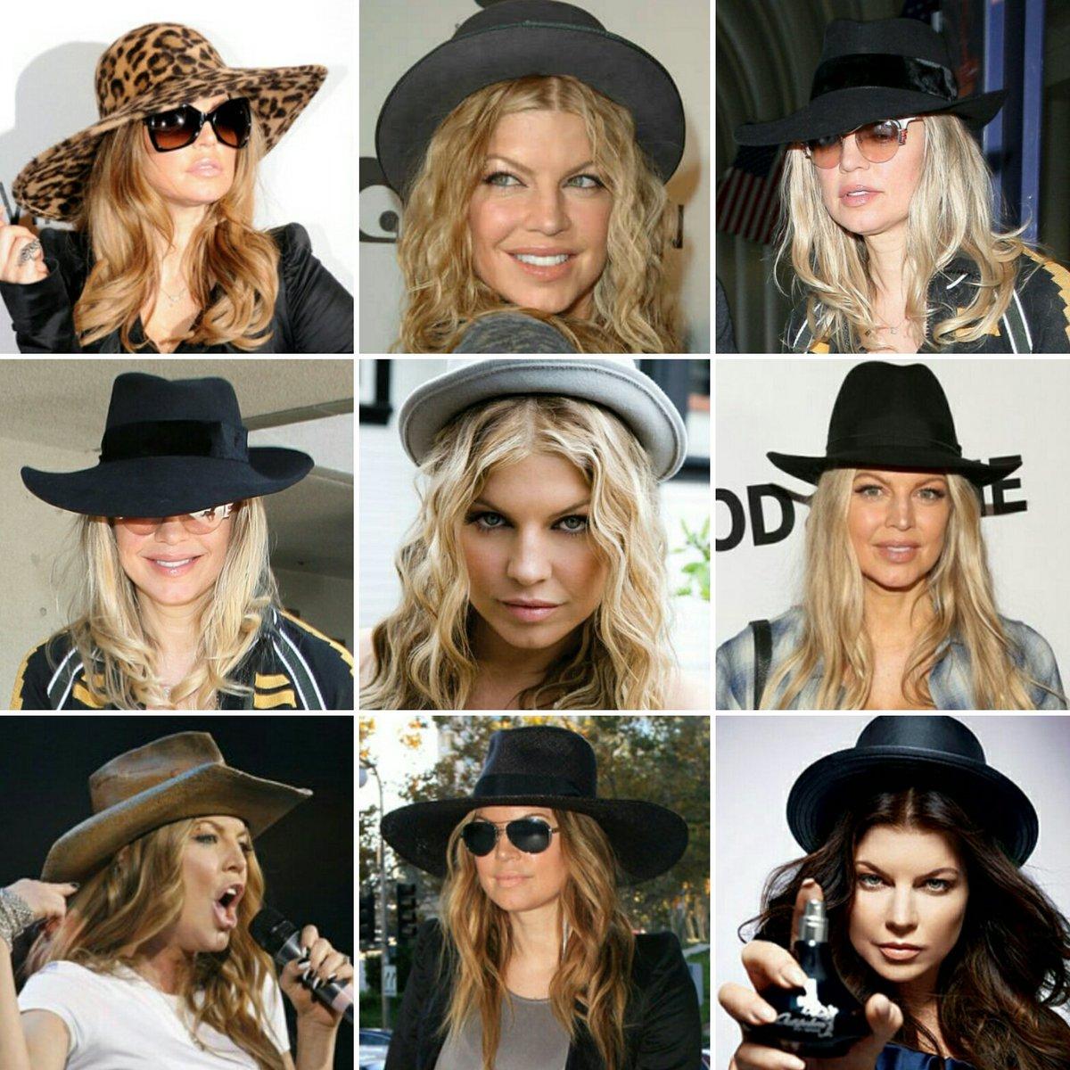 RT @Kornel73: #NationalHatDay  @Fergie love her hats! ???? We love #Fergie! ???? https://t.co/6hnSsxXHe5